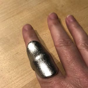 Long Silver ring